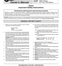schumacher battery charger model se 82 6 wiring diagram manualzz comrh manualzz  [ 791 x 1024 Pixel ]