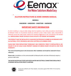 eemax ha027240 operating instructions manualzz comeemax ha027240 operating instructions [ 791 x 1024 Pixel ]