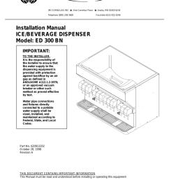 cornelius ed 300 bn installation manual [ 791 x 1024 Pixel ]