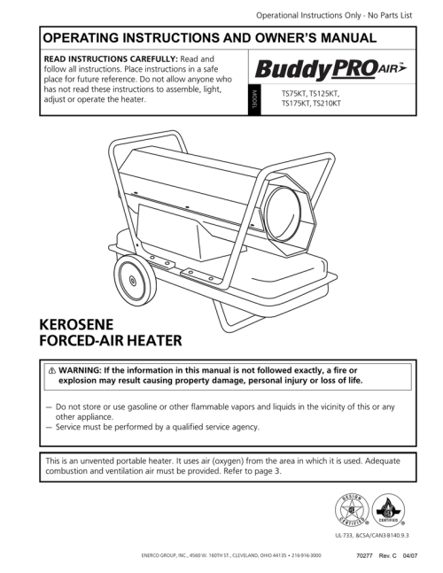 small resolution of mr heater ts125kt operating instructions