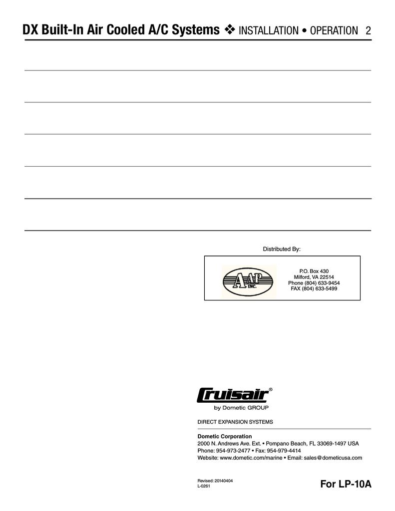 hight resolution of cruisair split diagram