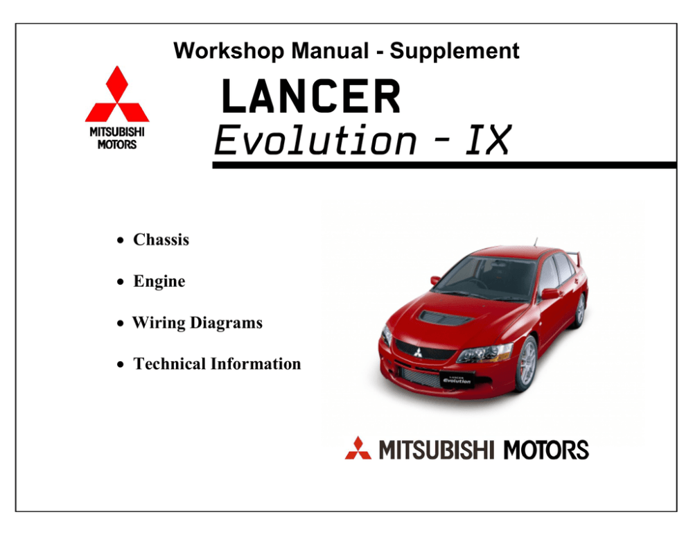 medium resolution of mitsubishi lancer evolution viii mr technical information