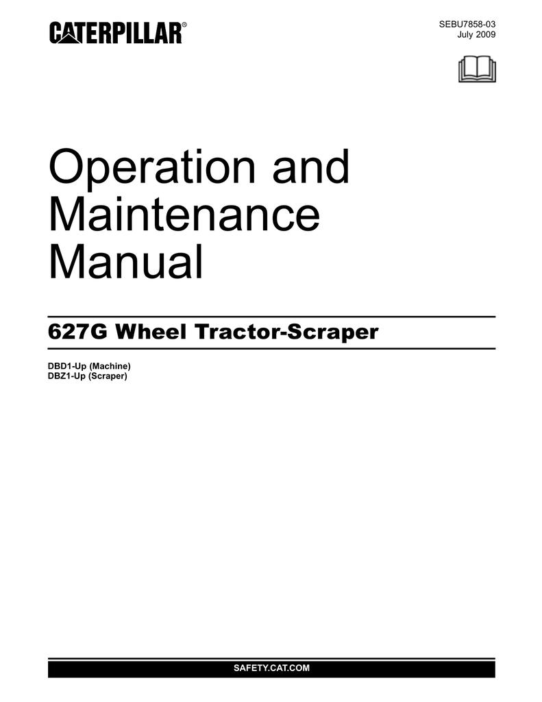 medium resolution of cat 627g specifications