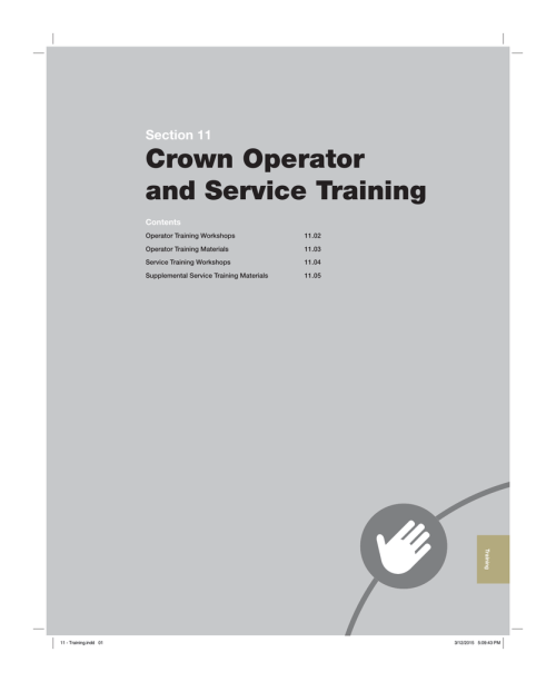 small resolution of crown walkie lift truck wr series section 11 training crown equipment corporation