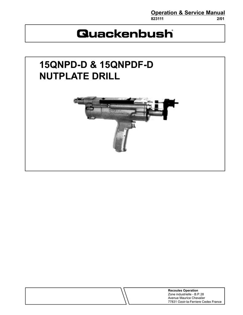 Quackenbush Drill Motor