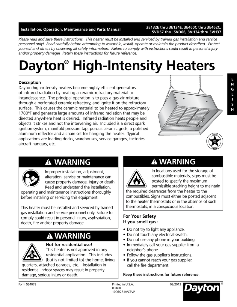 medium resolution of dayton 3e134e troubleshooting guide installation