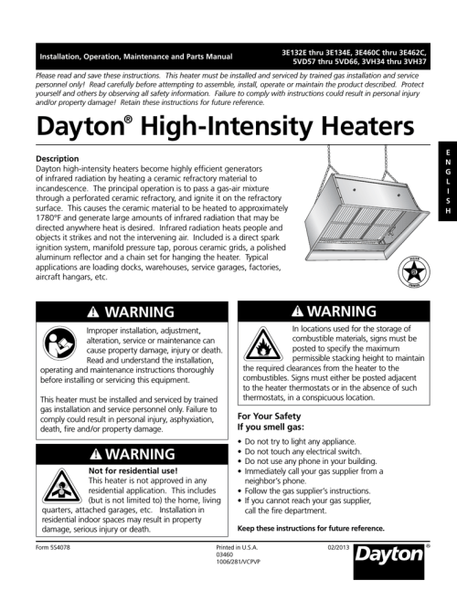 small resolution of dayton 3e134e troubleshooting guide installation