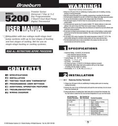 braeburn 5200 user manual manualzz com thermostat wiring simple you honeywell diagram engine [ 960 x 1024 Pixel ]