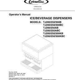 cornelius sid851a 250s b operator s manual [ 791 x 1024 Pixel ]