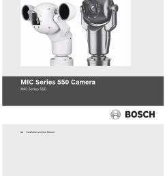 bosch mic series 400 user manual [ 791 x 1024 Pixel ]