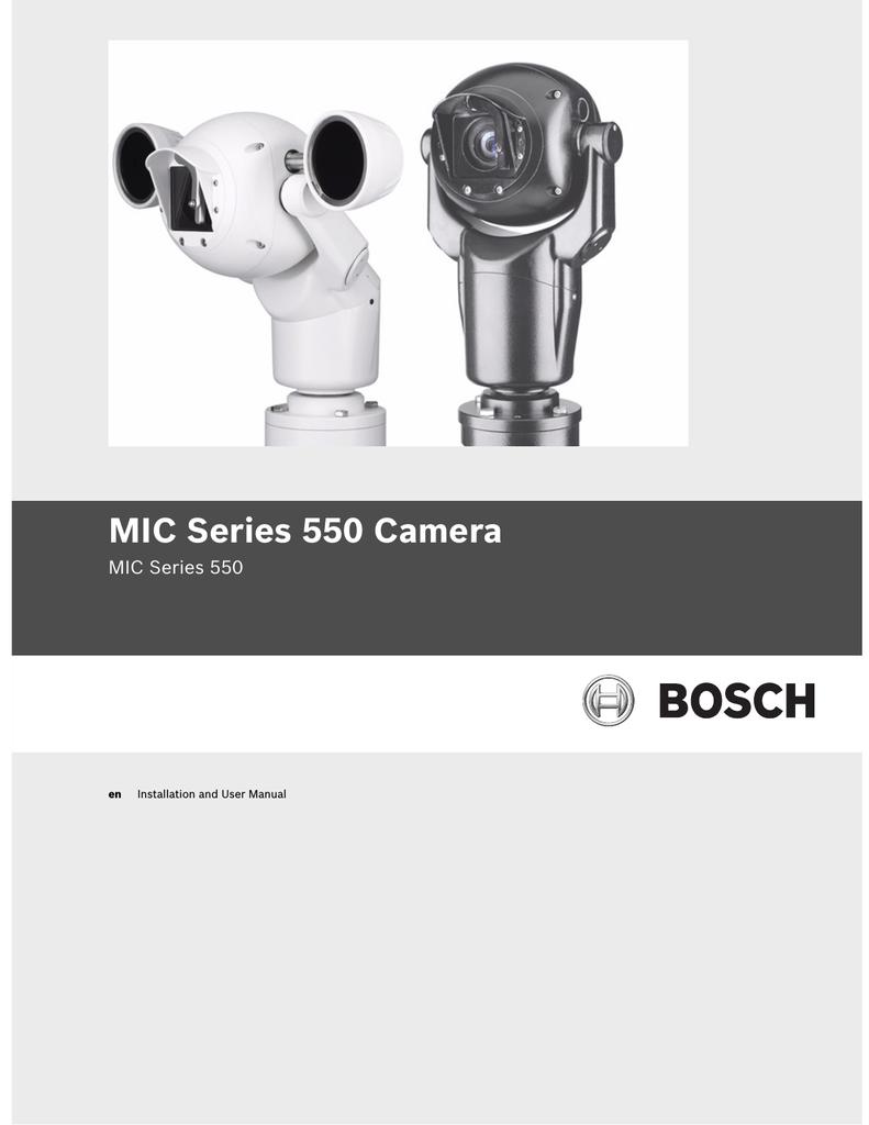 medium resolution of bosch mic series 400 user manual