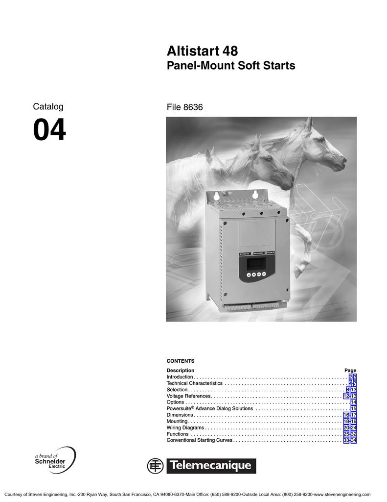 medium resolution of altistart 48 panel mount soft starts