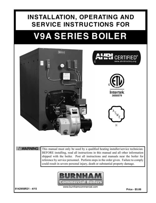 small resolution of burnham boilers instruction manual