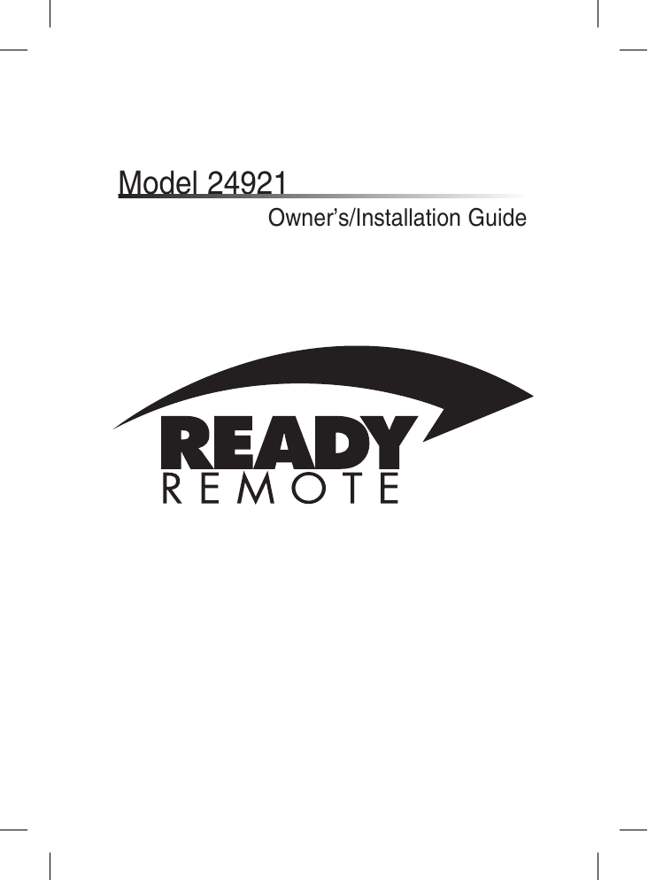 ready remote 24921 wiring diagram 6 way flat trailer installation guide manualzz com