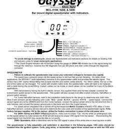 dakota digital 5000 series service manual [ 791 x 1024 Pixel ]