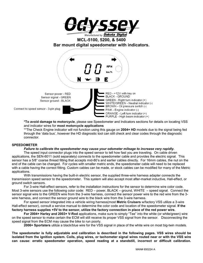 medium resolution of dakota digital 5000 series service manual