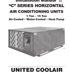 united coolair mp controller installation manual [ 791 x 1024 Pixel ]