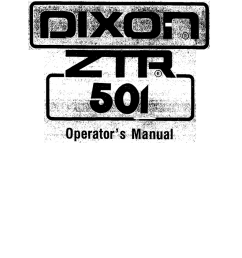 dixon ztr 501 specifications 001357420 1 7673c7a4c44729b2d2750ed9f67a7a62 dixon ztr 501 specifications at highcare asia dixon zeeter [ 791 x 1024 Pixel ]
