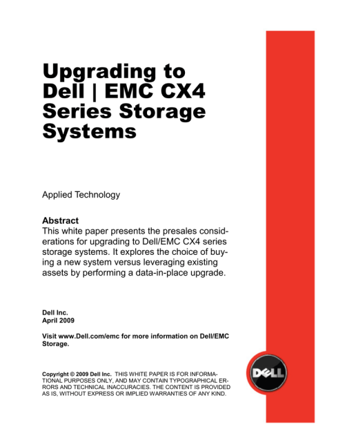 small resolution of dell dae upgrading to emc clariion cx4 series storage systems