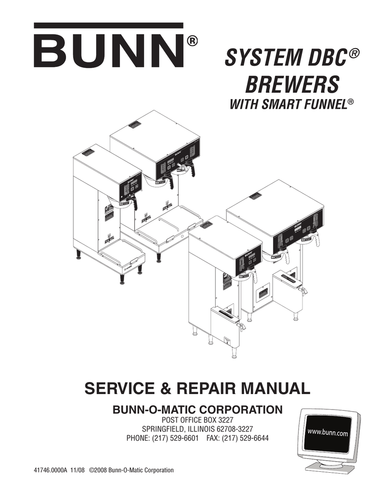 hight resolution of bunn dual gpr dbc repair manual manualzz com bunn brew phase wiring diagram