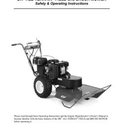 dr field and brush mower operating instructions [ 791 x 1024 Pixel ]