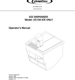 cornelius uc 150 operator s manual [ 791 x 1024 Pixel ]