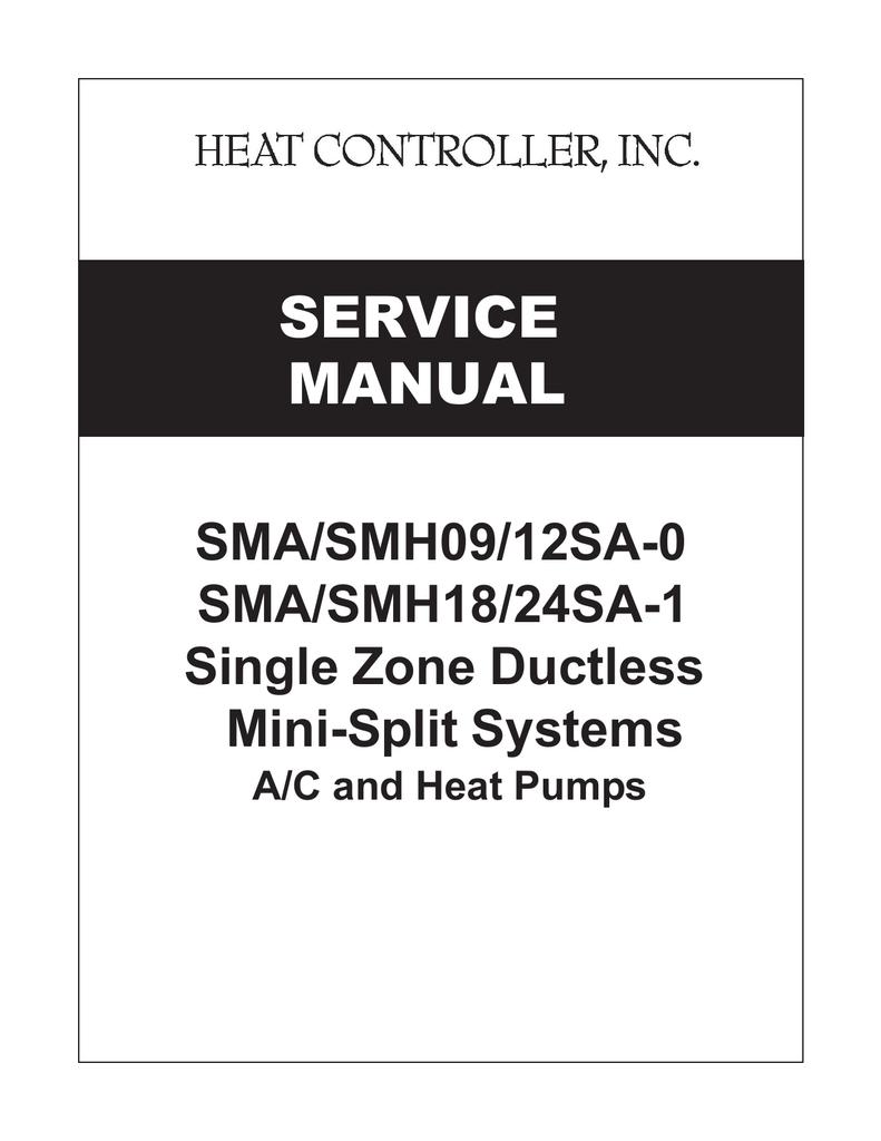 medium resolution of comfort aire smh12 service manual