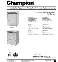 champion as100 troubleshooting guide manualzz com wiring diagram swm dish champion dish machine wiring diagram [ 791 x 1024 Pixel ]