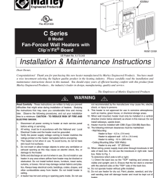 marley engineered products c series instructions assembly [ 791 x 1024 Pixel ]