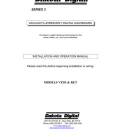 dakota digital str6d service manual [ 791 x 1024 Pixel ]