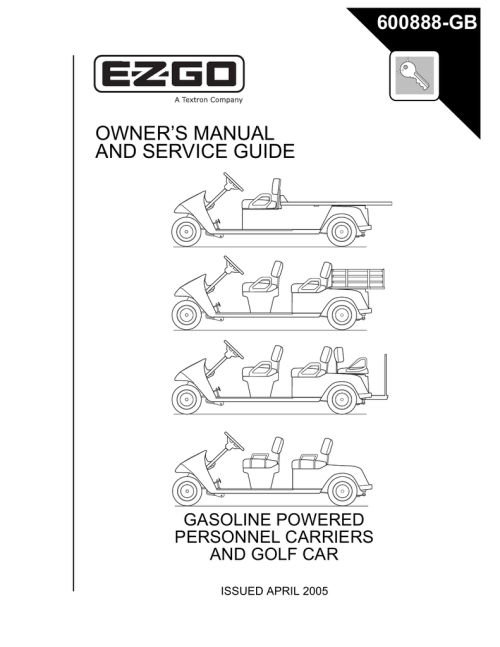 small resolution of ezgo shuttle 6 owner s manual
