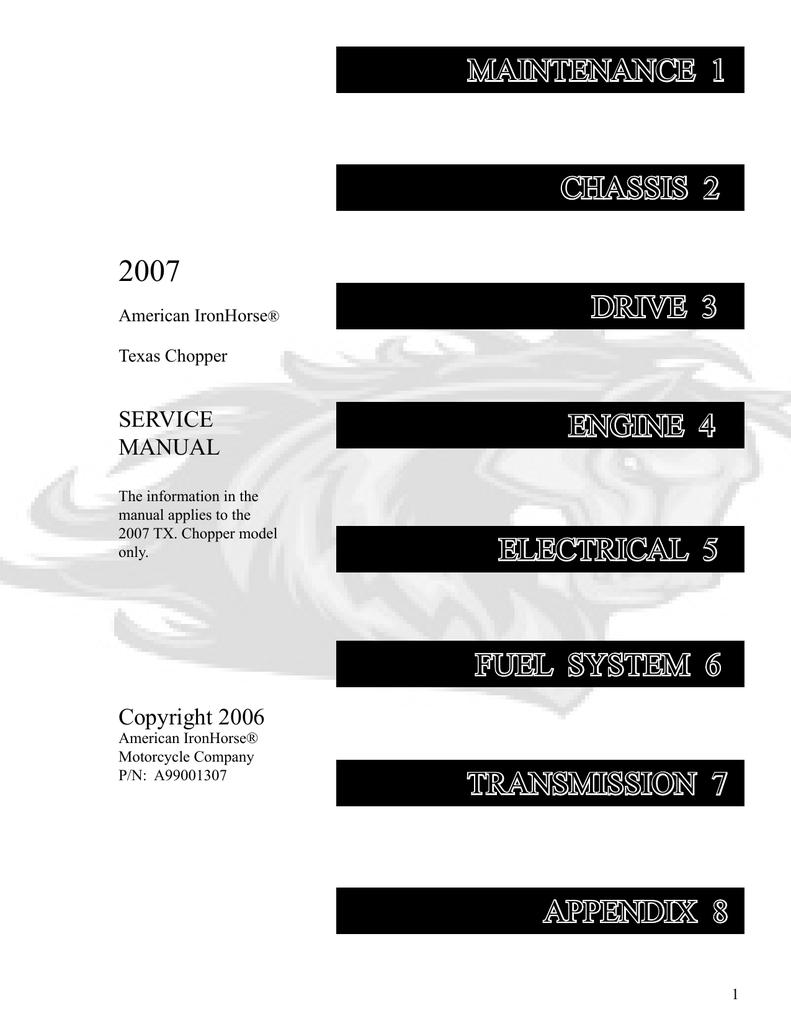hight resolution of american ironhorse lsc th service manual manualzz com