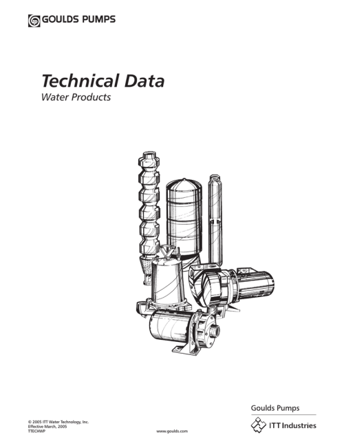 small resolution of a o smith on demand 705 series 100 goulds tech manual ttechwp