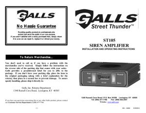 Galls Street Thunder Siren Wiring Diagram : 41 Wiring Diagram Images  Wiring Diagrams | Home