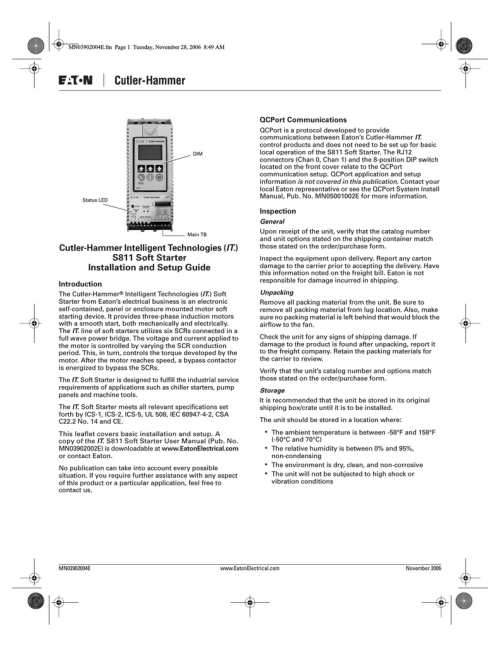 small resolution of eaton cutler hammer mn05001002e setup guide