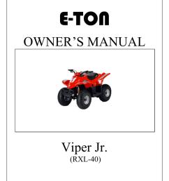 e ton viper jr rxl 40 owner s manual manualzz com [ 791 x 1024 Pixel ]