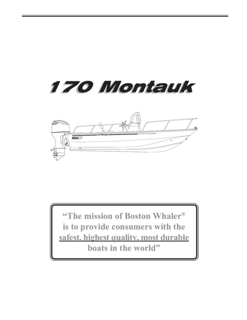 small resolution of boston whaler 170 montauk owner s manual