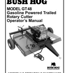 bush hog gt 48 operator s manual manualzz com bush hog gt48 wiring diagram [ 791 x 1024 Pixel ]