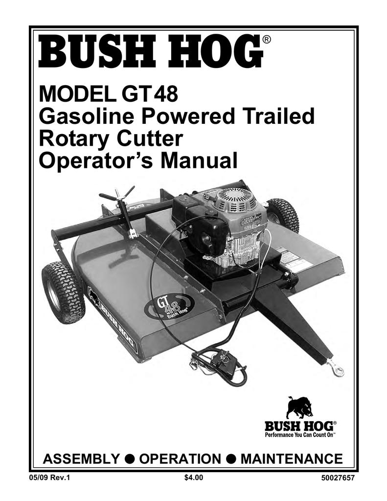 medium resolution of bush hog gt 48 operator s manual manualzz com bush hog gt48 wiring diagram