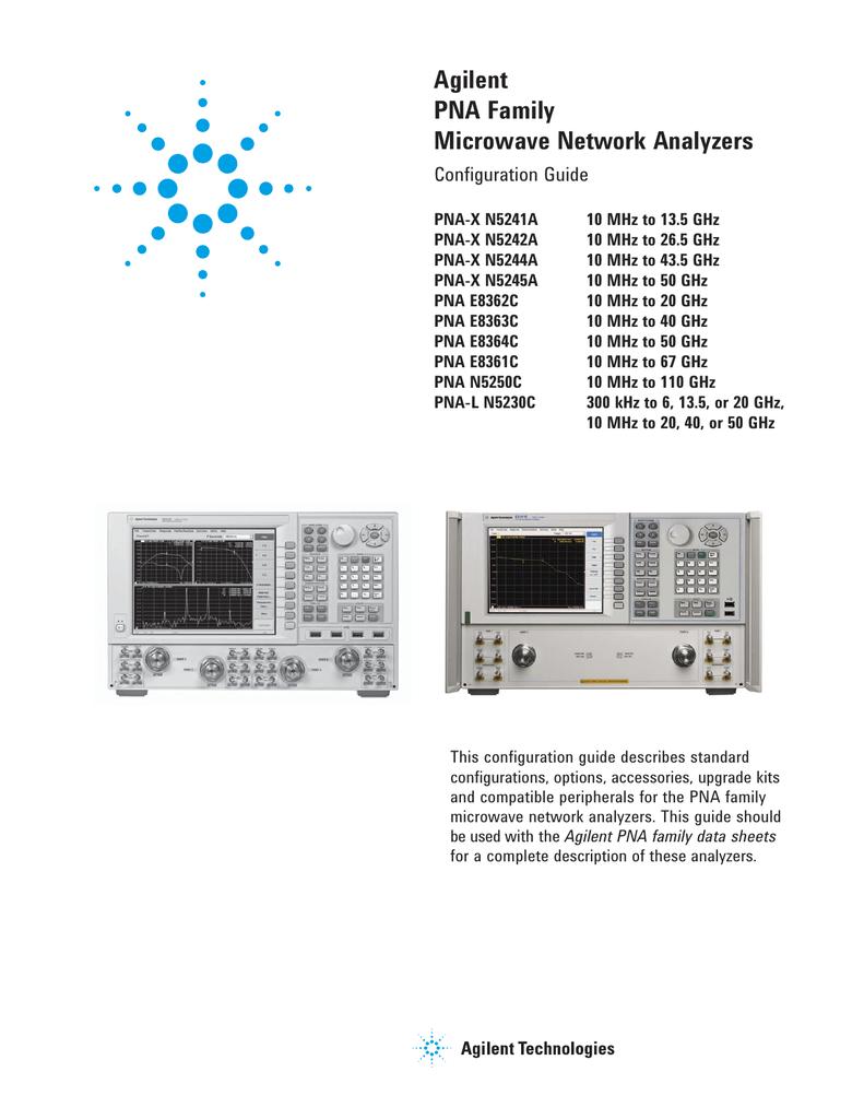 hight resolution of agilent technologies e8364c specifications manualzz com agilent pna and pna l series microwave network analyzers block diagram