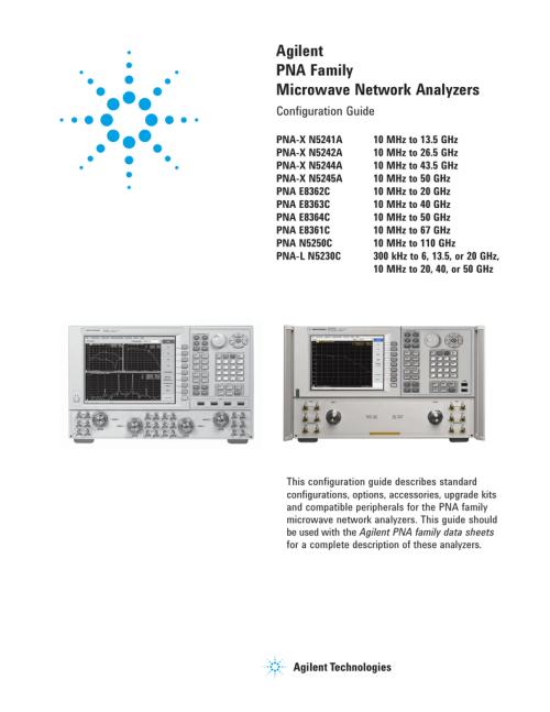 small resolution of agilent technologies e8364c specifications manualzz com agilent pna and pna l series microwave network analyzers block diagram