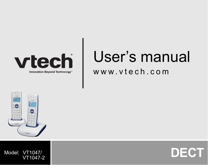 радиотелефон Vtech Vt1301 инструкция на русском