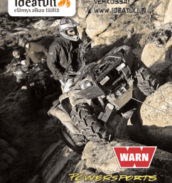 warn industries atv winch multi mount 2 5ci product guide [ 789 x 1024 Pixel ]