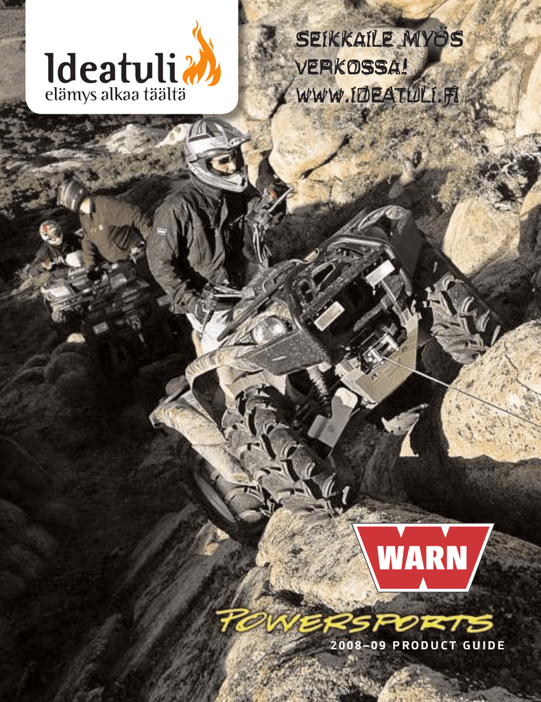 hight resolution of warn industries atv winch multi mount 2 5ci product guide