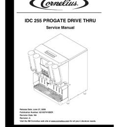 cornelius idc 2xx service manual [ 791 x 1024 Pixel ]