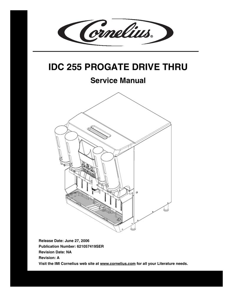 hight resolution of cornelius idc 2xx service manual