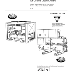 Carrier 30hxc Chiller Wiring Diagram Electrolux Double Oven 30hx Pro Specifications Manualzz Com