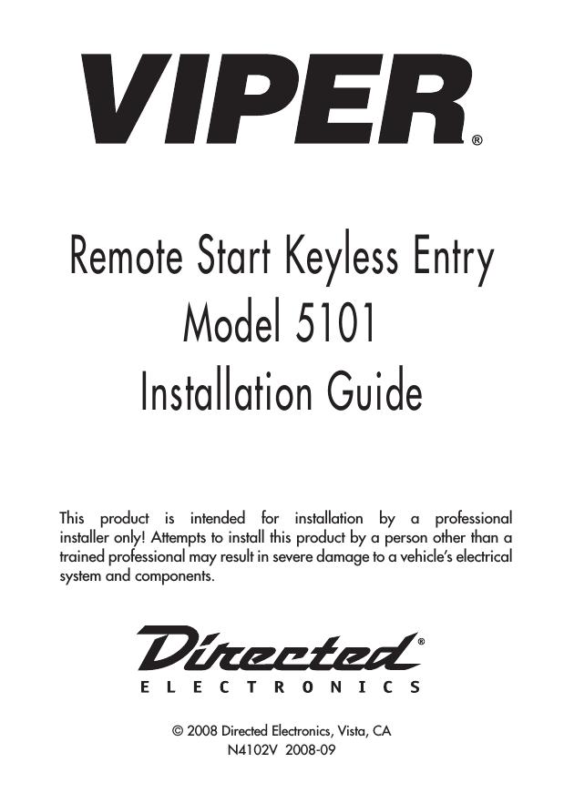 4105 viper remote start wiring diagrams sea doo 587 motor