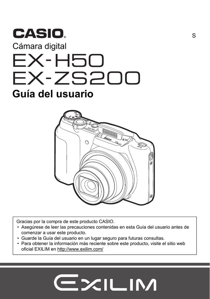 Casio EXILIM EX-ZS200, EX-ZS200, EXILIM EX-H50, EX-H50