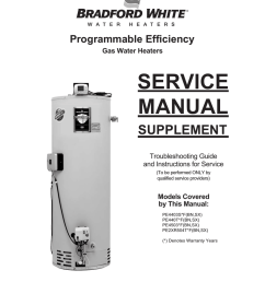 bradford white water heater part diagram [ 791 x 1024 Pixel ]